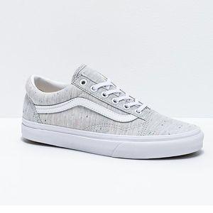 Vans Old Skool Jersey Grey Speckled Sneakers